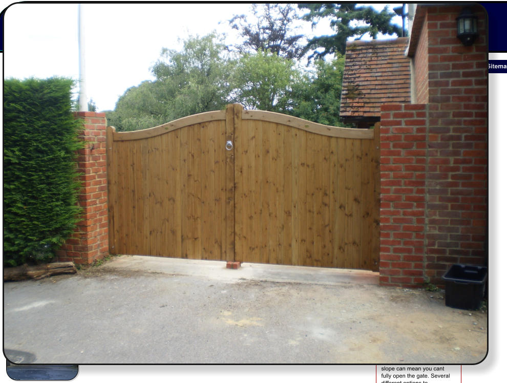 Haslemere Fencing Gates
